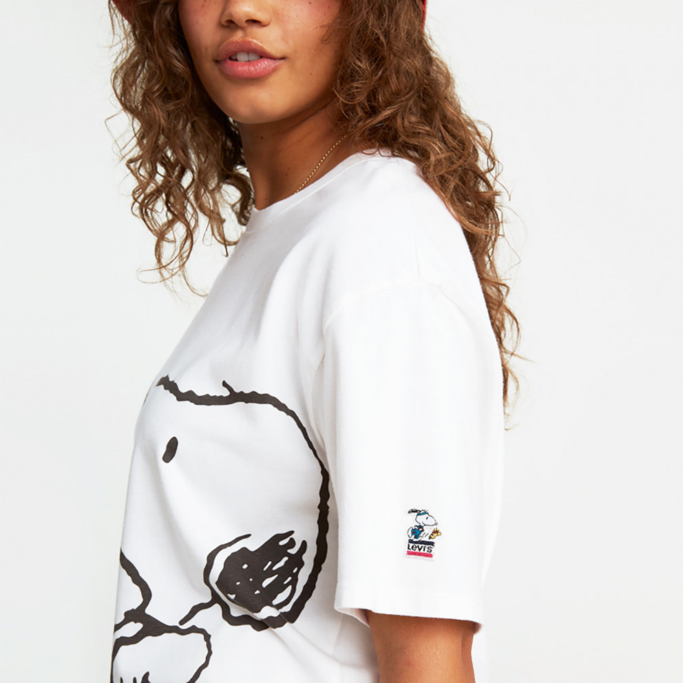 Levis Graphic Rlxed Oversize Snoopy Women's T-Shirt