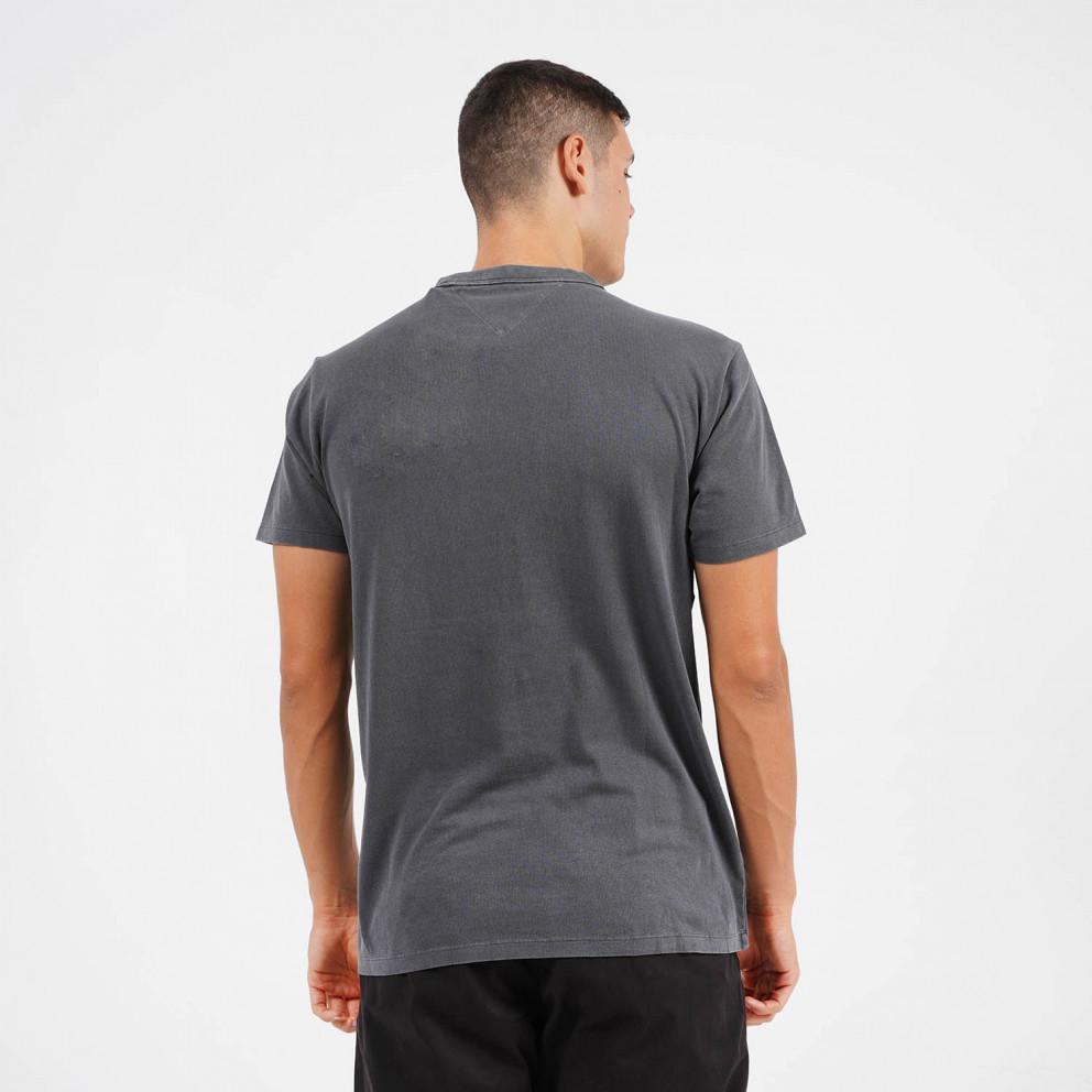 Tommy Jeans Washed Logo Men's T-Shirt