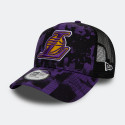 NEW ERA NBA Los Angeles Lakers Error Print Men's Trucker Cap