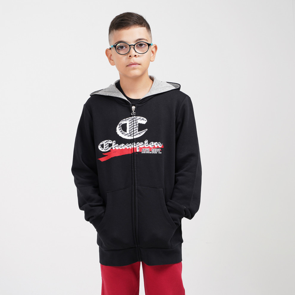 Champion Kids' Hooded Full Zip Jacket
