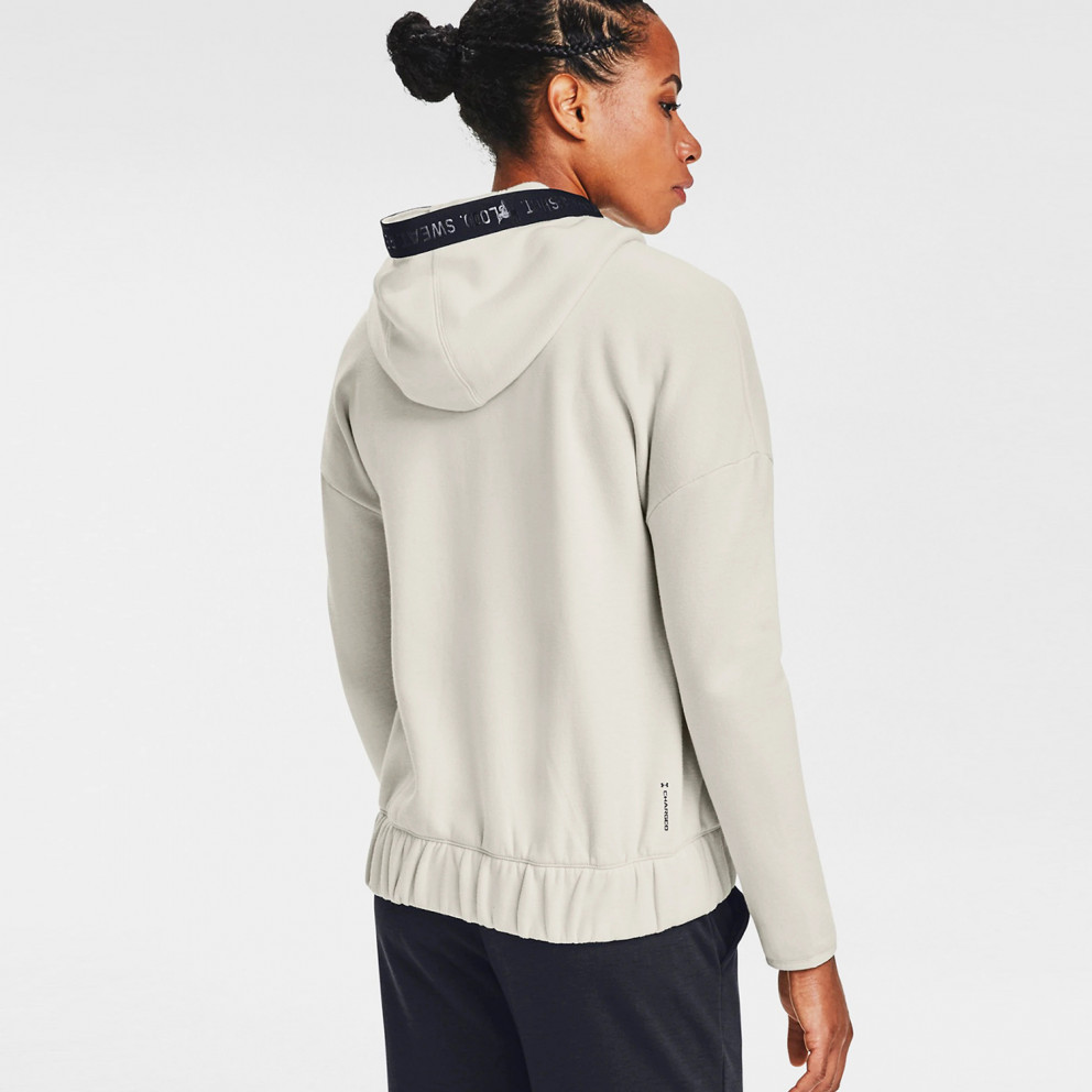 Under Armour Project Rock Charged Cotton Women's Fleece Full Zip