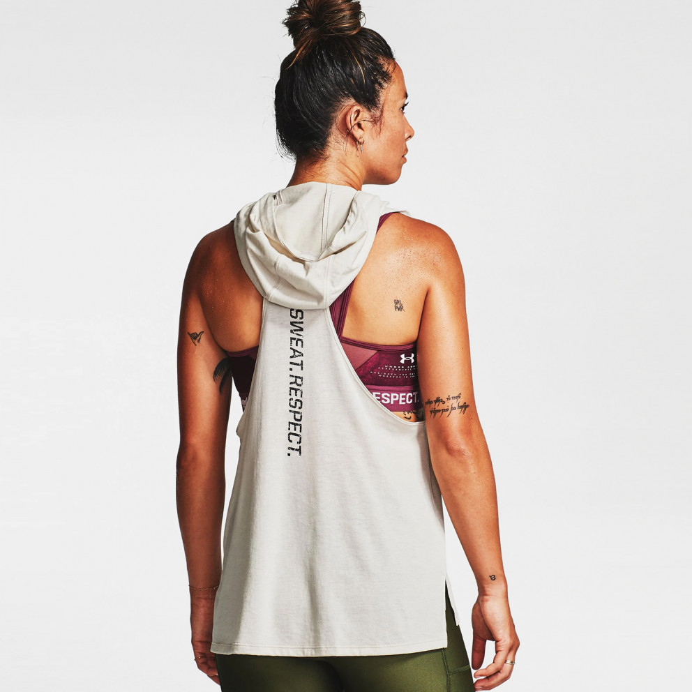 Under Armour Women's Project Rock Hooded Tank