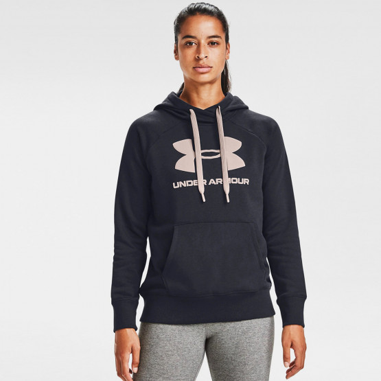 Under Armour Γυναικείο Rival Fleece Logo Φούτερ