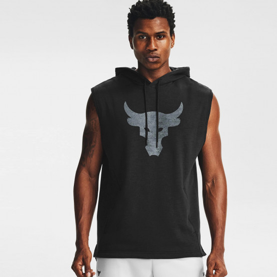 Under Armour Project Rock Charged Cotton Sleeveless Fleece Ανδρικό Φούτερ