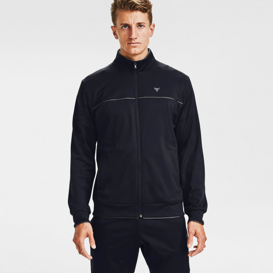 Under Armour Men's Project Rock Knit Track Jacket