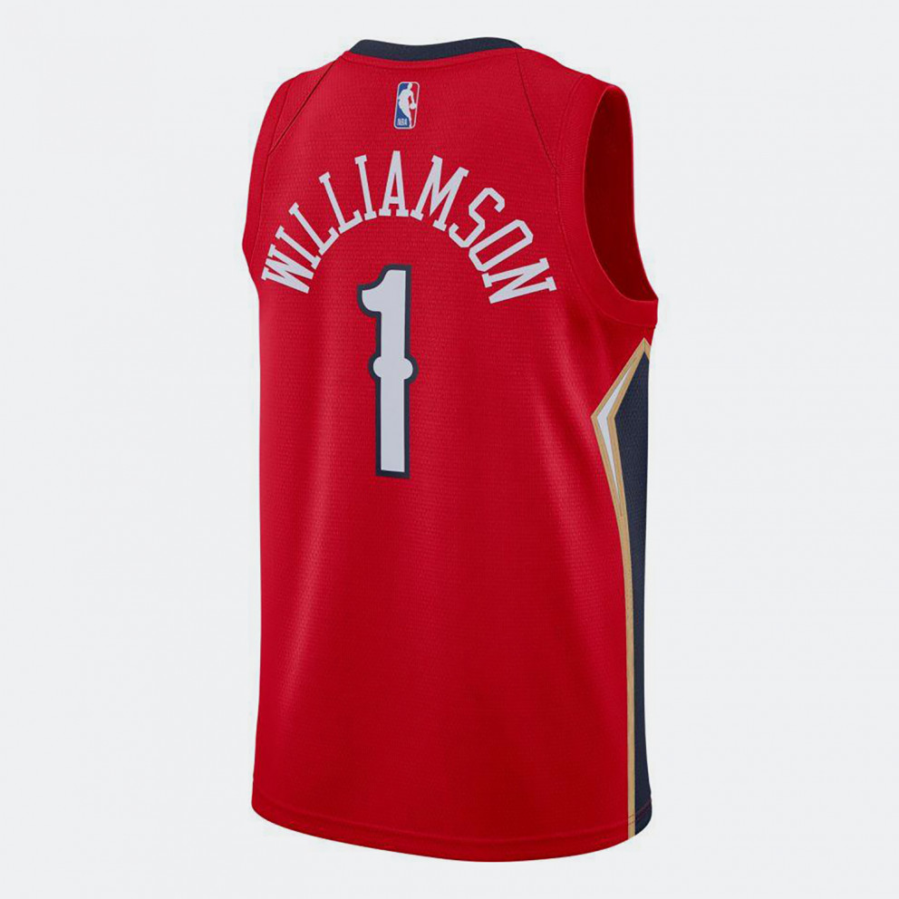 Jordan NBA Zion Williamson New Orleans Pelicans Statement Edition 2020 Men's Jersey