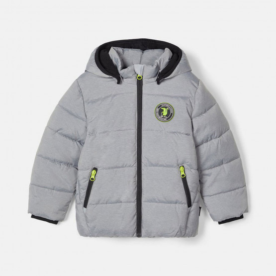 Name it Kid's Puffer Coat with Removable Hood