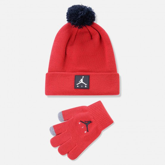Jordan Air Patch Beanie Set