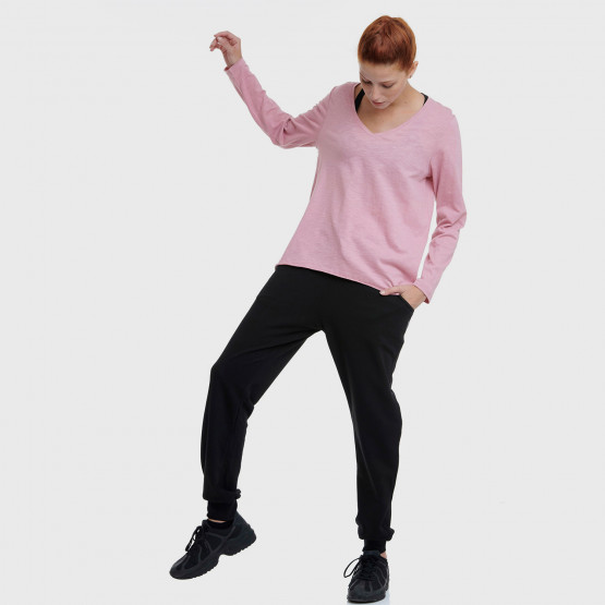 BodyTalk wcl Ls Tshirt V-Neck  100%Co
