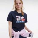 Tommy Jeans Signature Logo Γυναικεία Μπλούζα