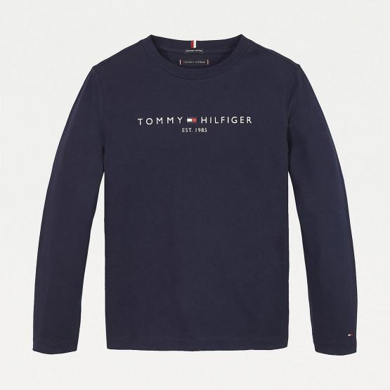 Tommy Jeans Essential Παιδική Μπλούζα με Μακρύ Μανίκι