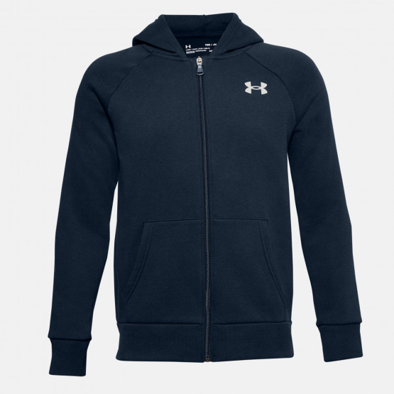 Under Armour Boys' Rival Cotton Full Zip Hoodie