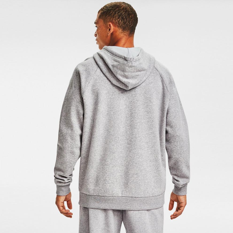 Under Armour Rival Fleece Big Logo Ανδρική Μπλούζα με Κουκούλα