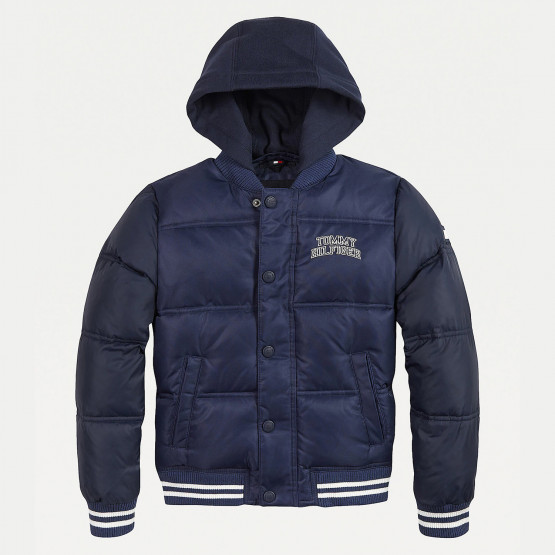 Tommy Jeans Hooded Padded Quilted Bomber