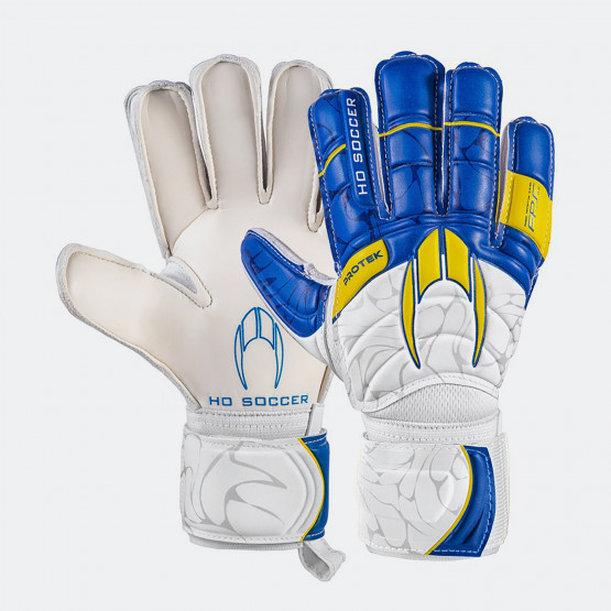 Ho Soccer Primary Protek Flat Blue Protective Bone Ανδρικά Γάντια Τερματοφύλακα