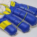 Ho Soccer Primary Protek Flat Blue Protective Bone Men's Goalkeeper Gloves