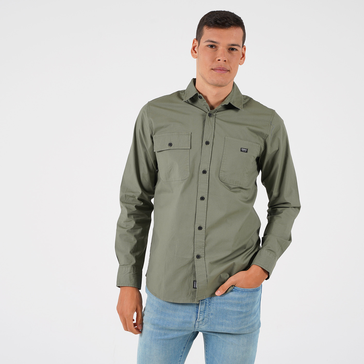 Emerson Men's Cotton Shirt (9000054104_1985)