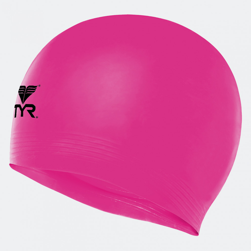 TYR Solid Latex Swimming Cap