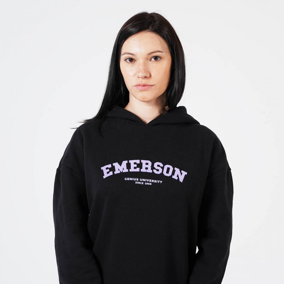 Emerson Γυναικεία Μπλούζα με Κουκούλα