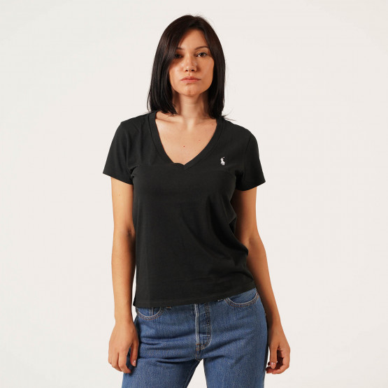 Polo Ralph Lauren Cotton Jersey Crewneck Women's Tee