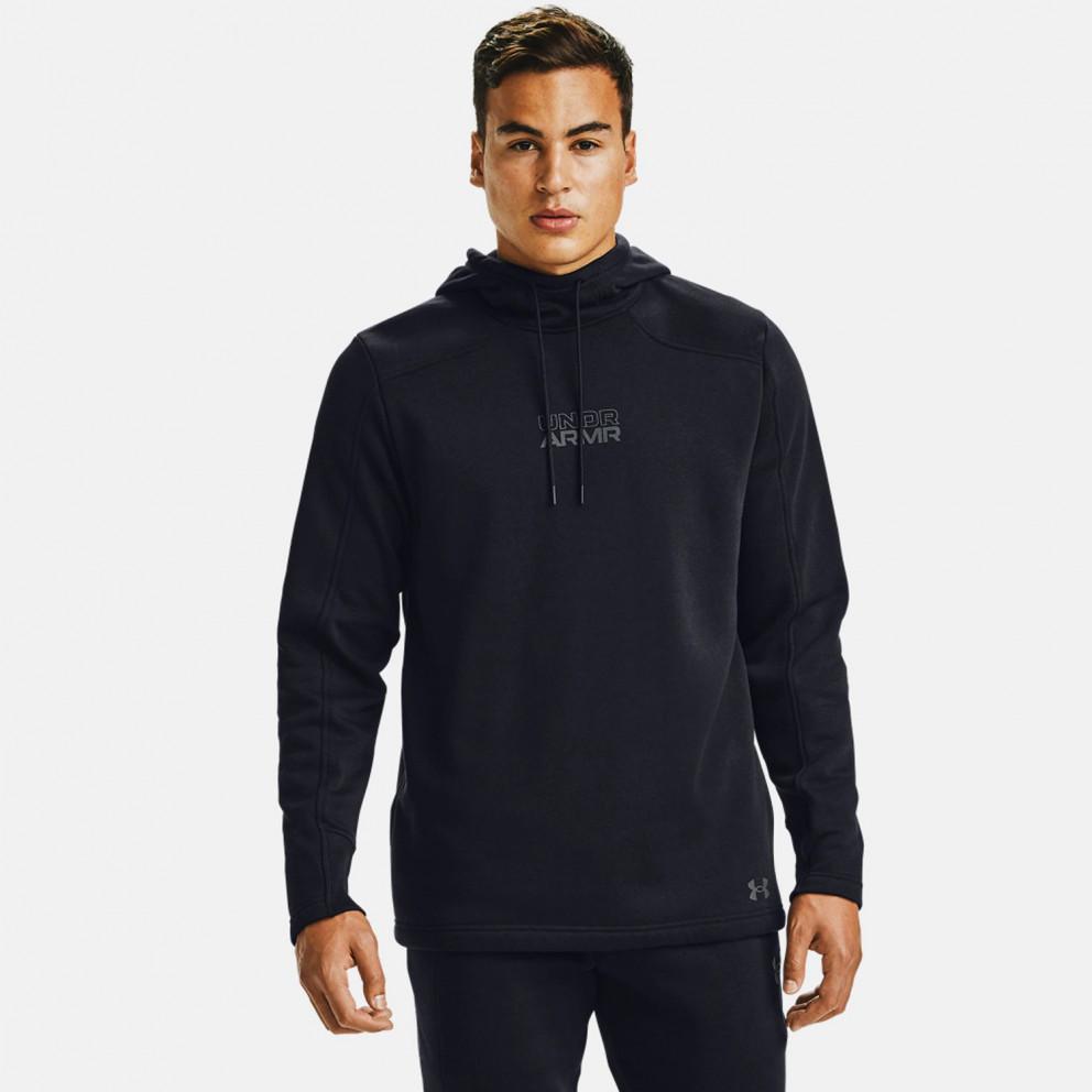 Under Armour Baseline Fleece Pullover Ανδρικό Φούτερ με Κουκούλα