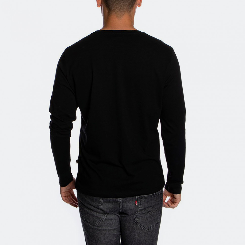Alpha Industries Basic LS Small Logo