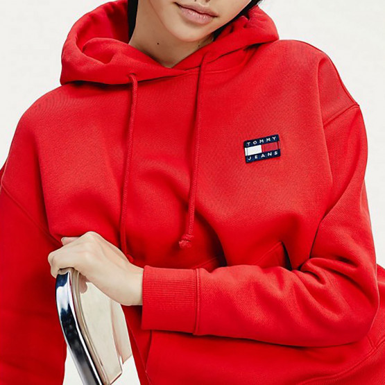 Tommy Jeans Badge Organic Cotton Women's Hoodie
