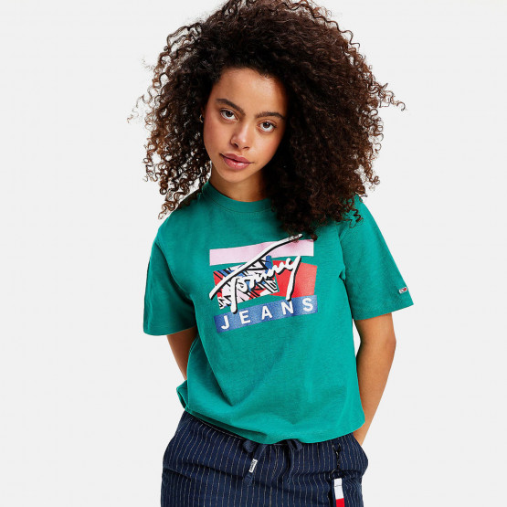 Tommy Jeans Signature Logo Women's Tee