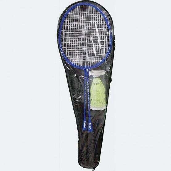 AMILA Σετ 2 Ρακετες Badminton Μεταλλικες Και 3 Μπα