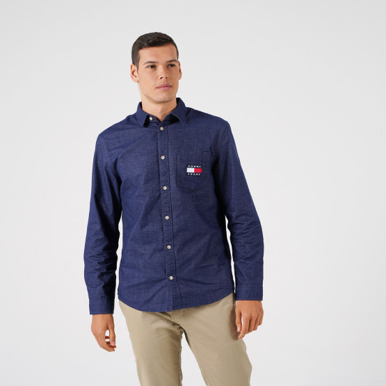 Tommy Jeans Button-Up Shirt