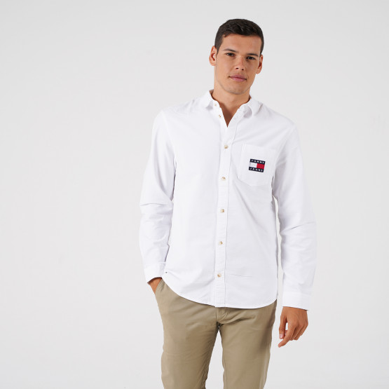 Tommy Jeans Brushed Oxford Badge Shirt