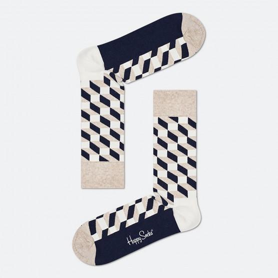 Happy Socks Filled Optic Unisex Κάλτσες