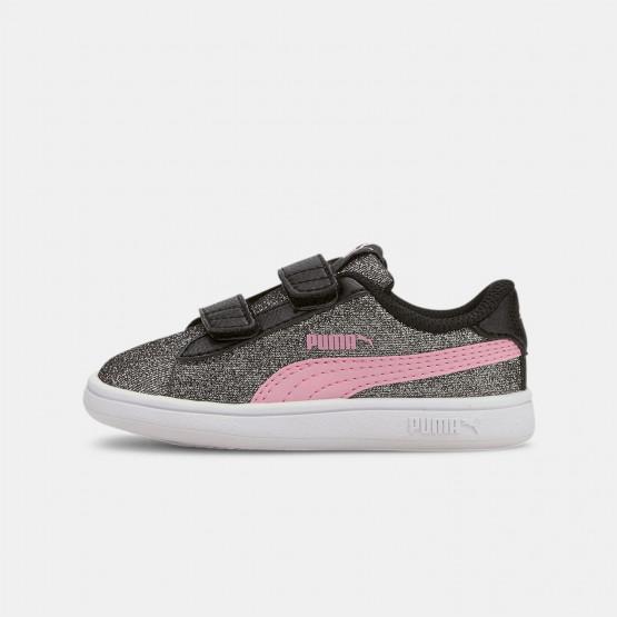 Puma Smash V2 Glitz Toddler's Shoes