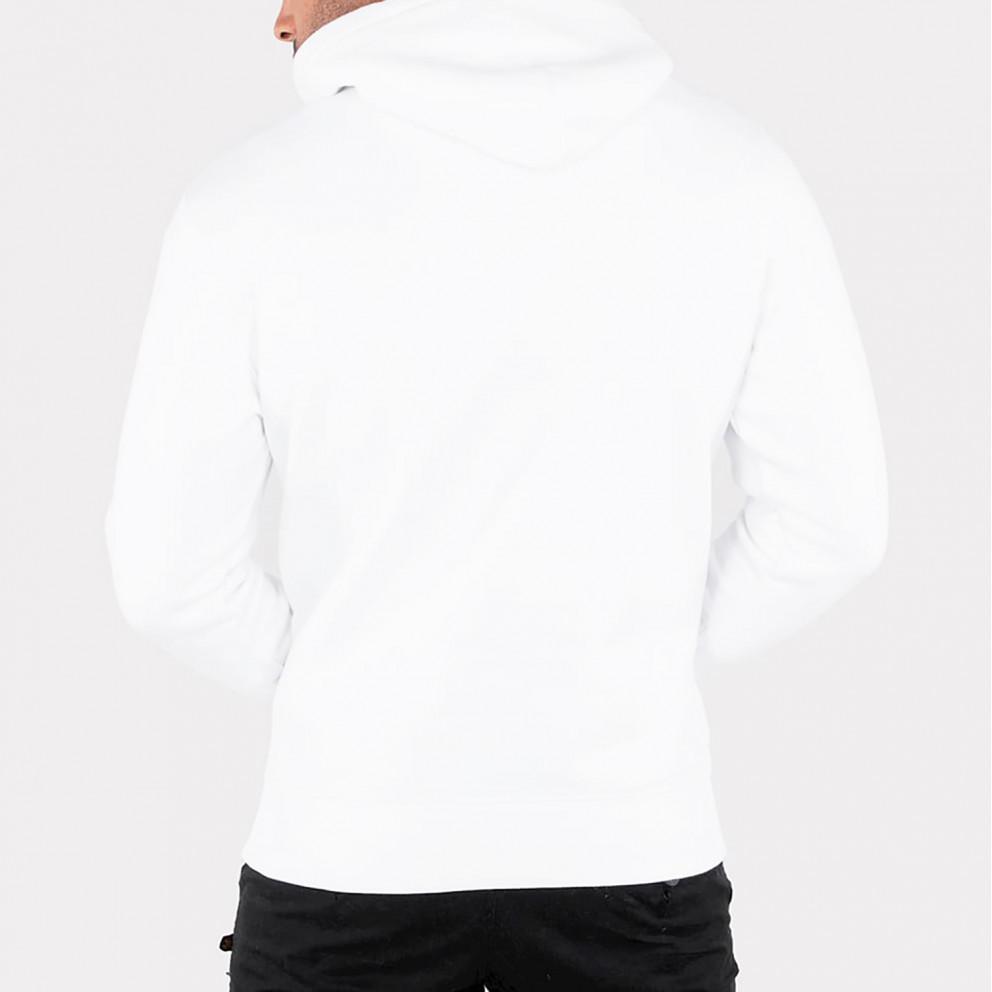 Alpha Industries Basic Ανδρική Μπλούζα με Κουκούλα