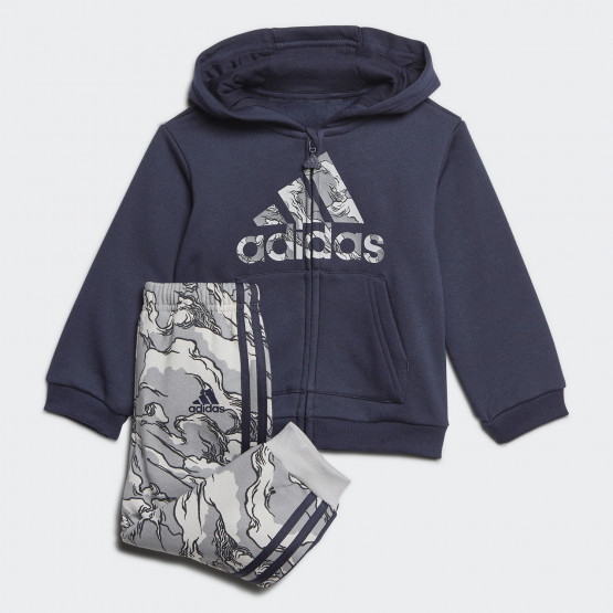 adidas Fleece Hooded Jogger Infants' Set