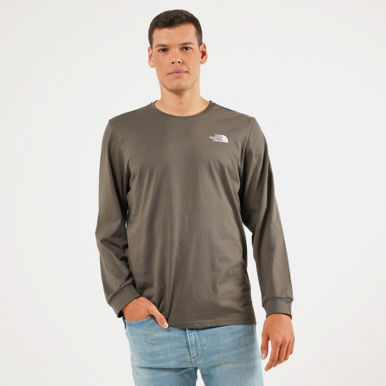 THE NORTH FACE M Ls Simple Dome Tee Nwtaupgn/Tnf