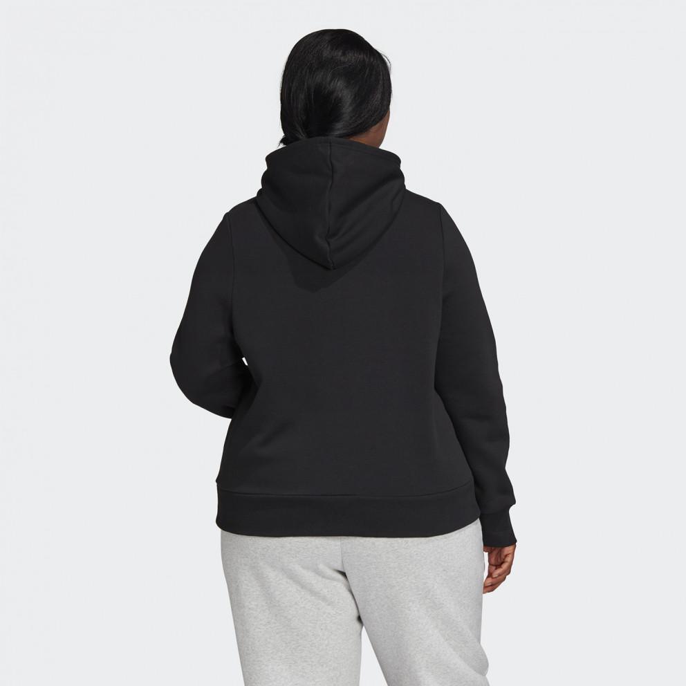 adidas Badge of Sport Pullover Fleece Hoodie - Plus Size