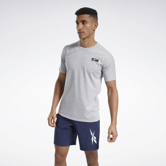 Reebok Sport Speedwick Graphic Move Tee Ανδρική Κοντομάνικη Μπλούζα