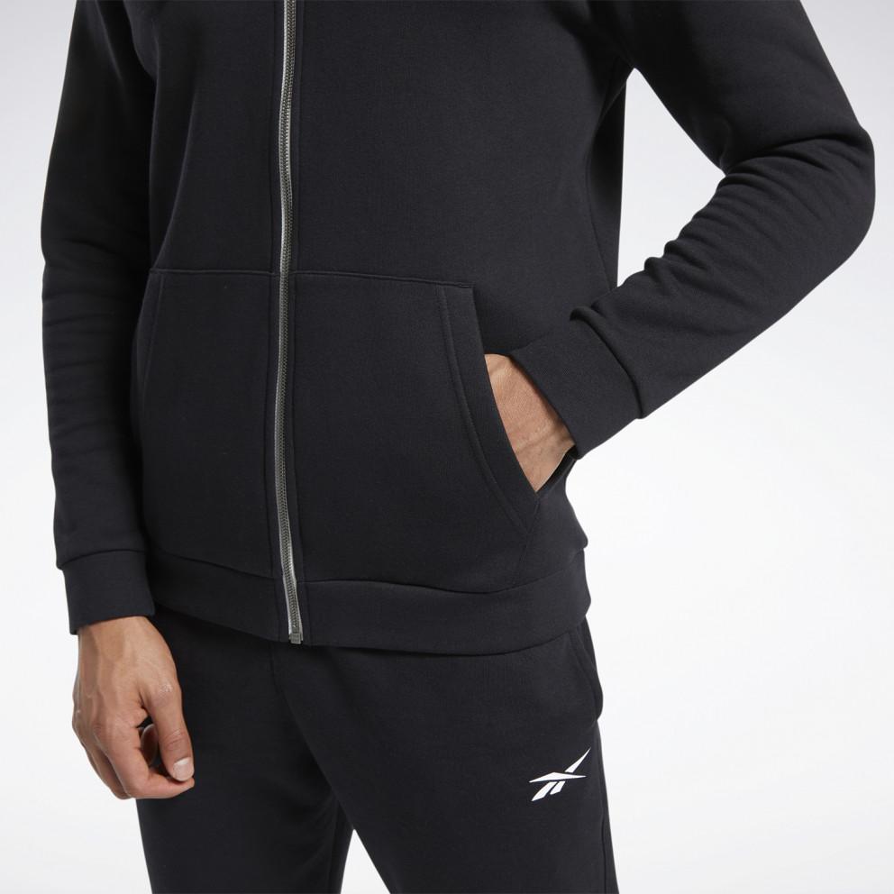 Reebok Sport Training Essential Fleece Ανδρική Ζακέτα