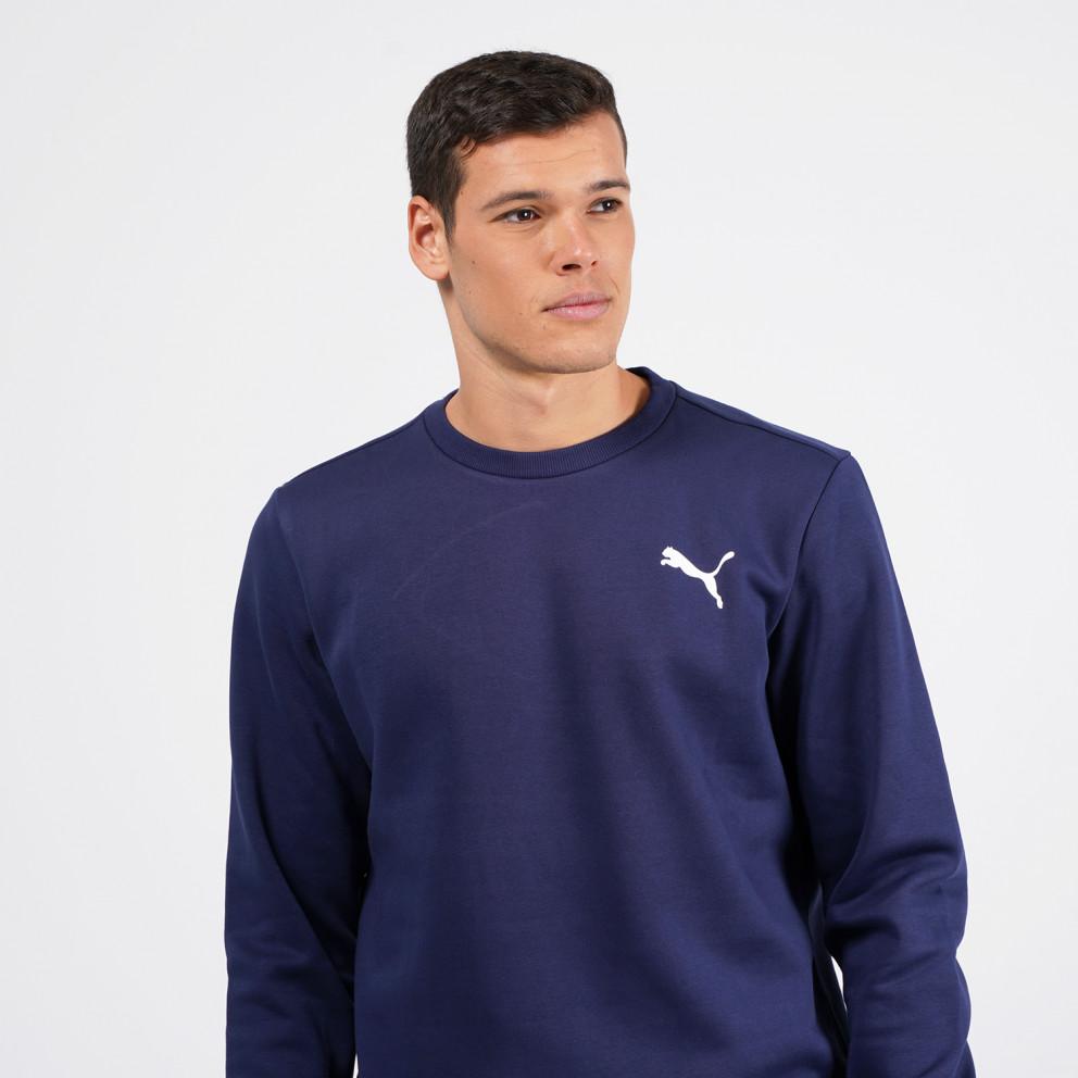 Puma Essentials Logo Ανδρική Μπλούζα Φούτερ