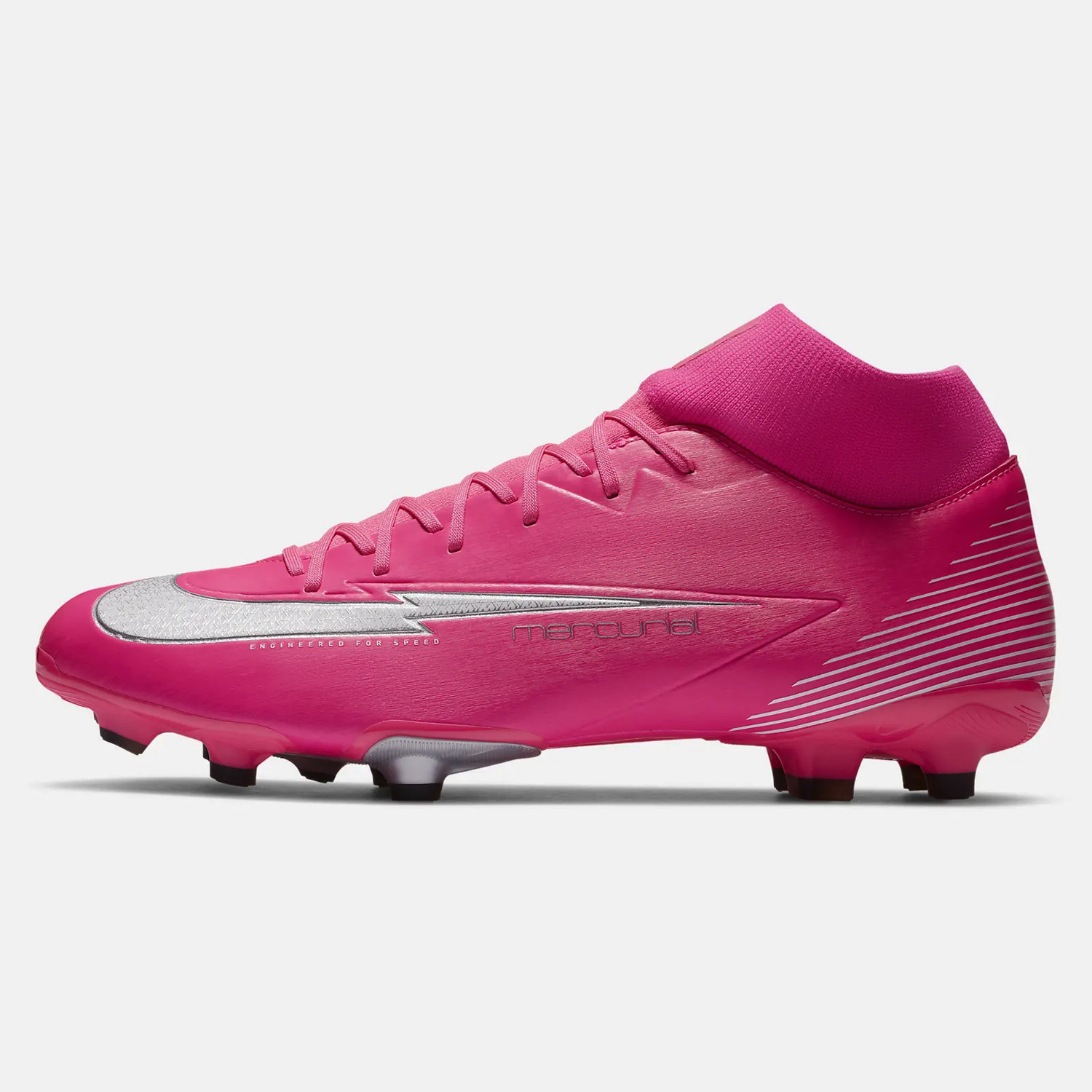 Nike Superfly 7 Academy Mbappe Rosa Ποδοσφαιρικά Παπούτσια (9000055563_46265)