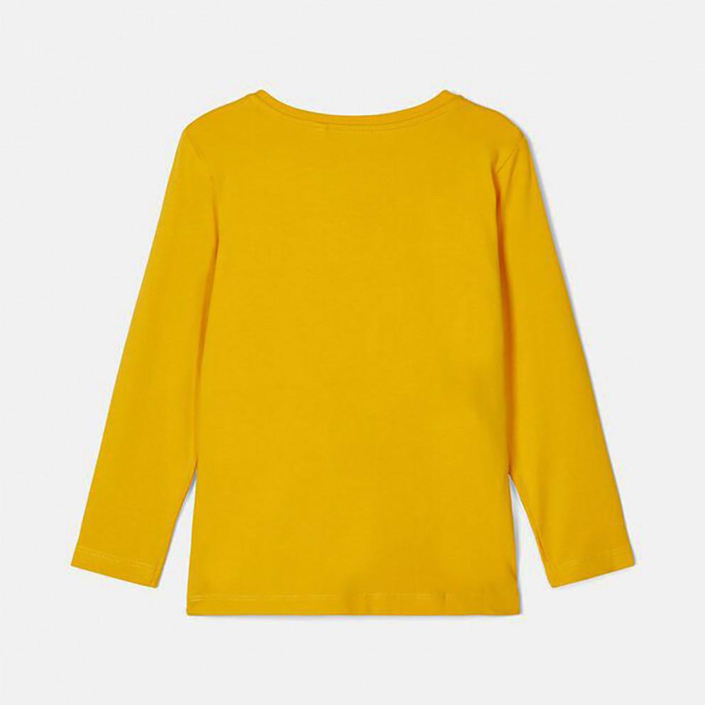 Name It Βρεφική Μπλούζα με Μακρύ Μανίκι