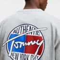 Tommy Jeans Back Print Peached Cotton Ανδρικό T-shirt