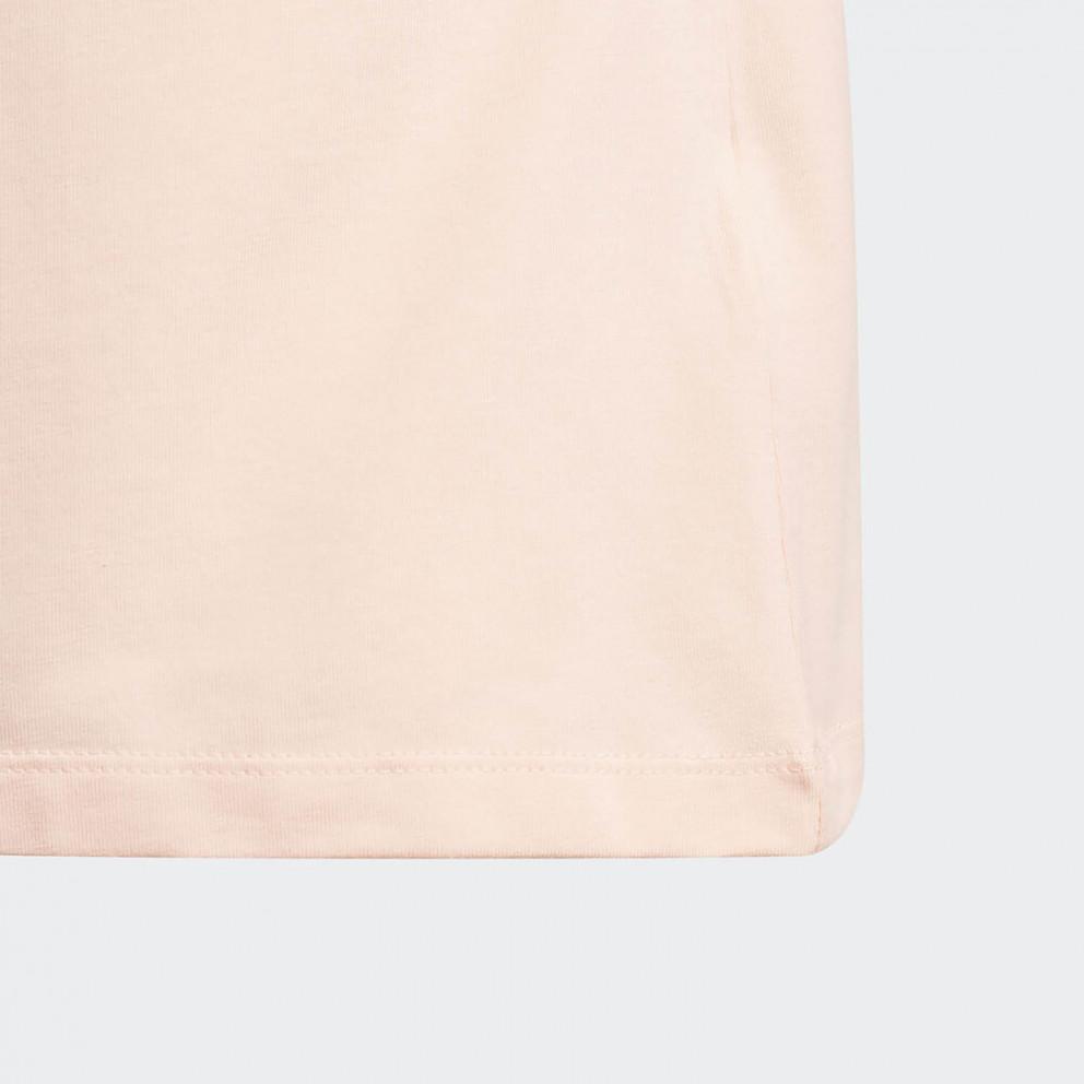 adidas Originals 3-Stripes Cropped Tee Παιδική Μακρυμάνικη Μπλούζα