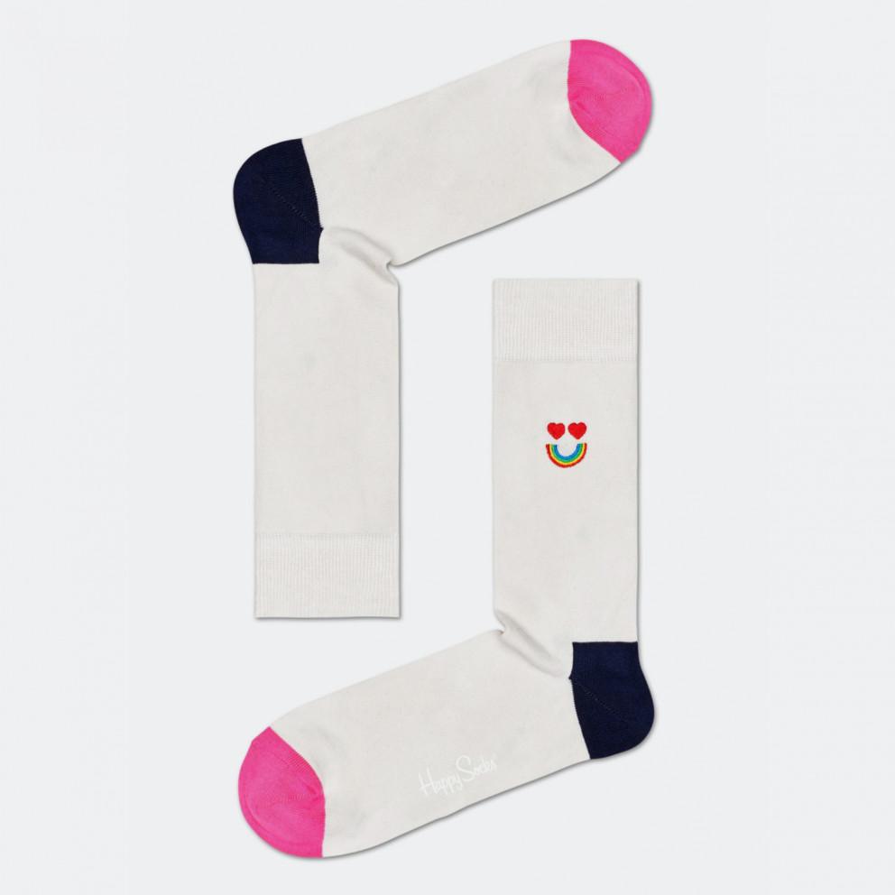 Happy Socks Embroidery Happy Rainbow Sock