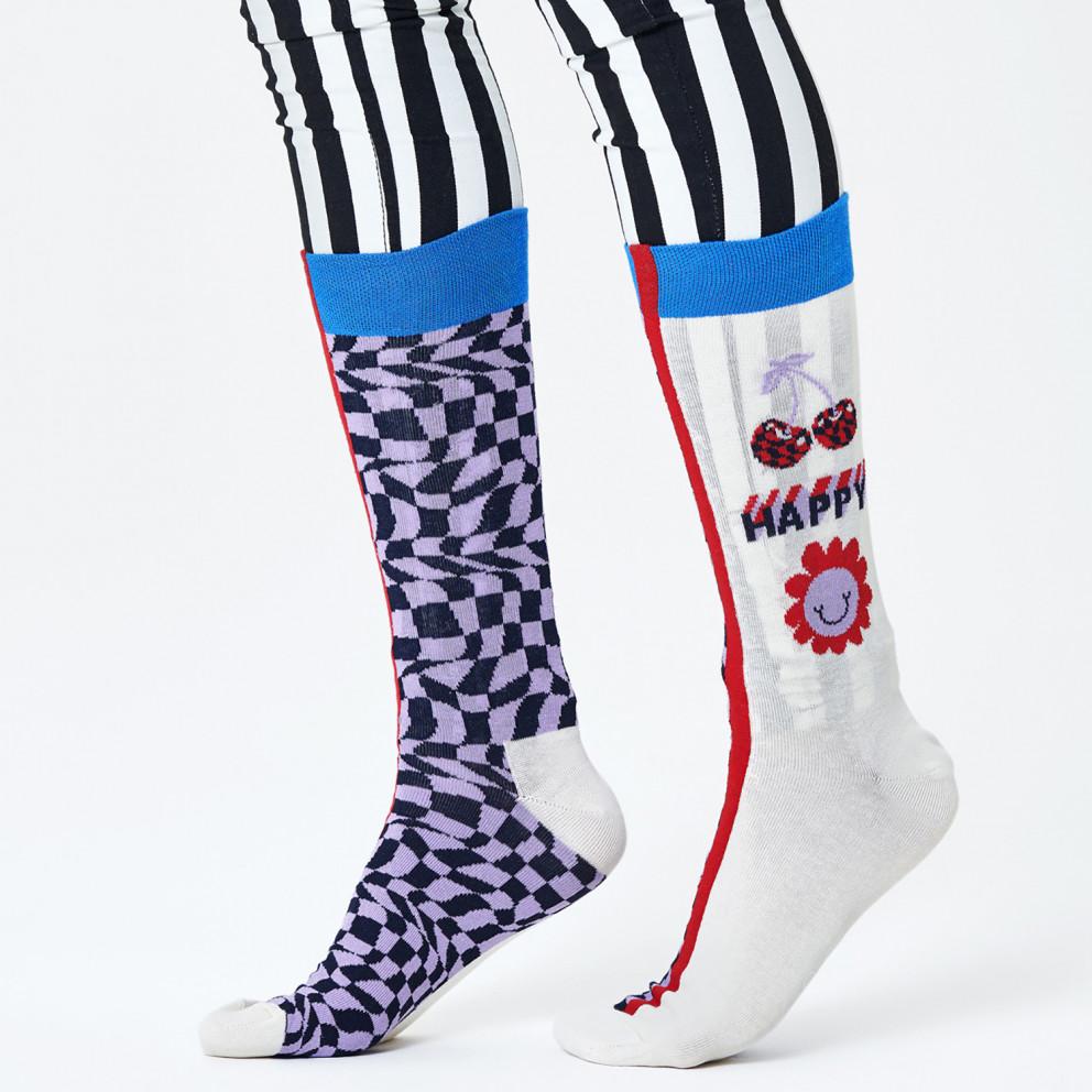Happy Socks Half/half Allover Dots Sock