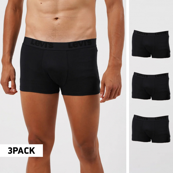Levi's Disrupted Stripe 3-Pack Men's Trunks