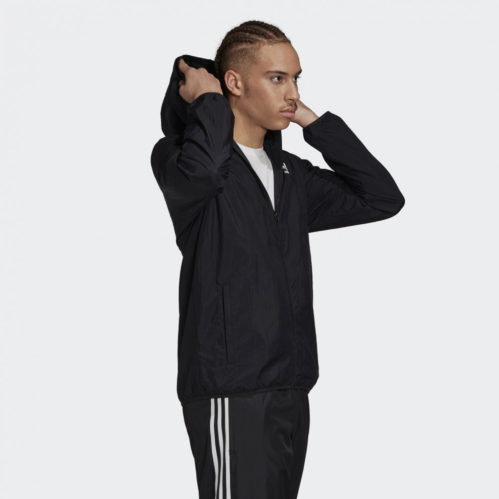 adidas Originals Trefoil Essentials Windbreaker Ανδρικό Αντιανεμικό Μπουφάν
