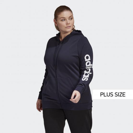 adidas Performance Plus Size Γυναικεία Ζακέτα Φούτερ
