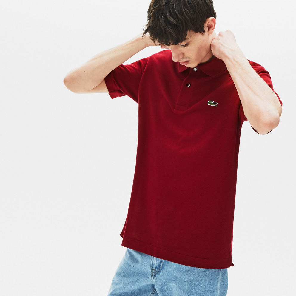 Lacoste Classic Fit Ανδρική Πόλο Μπλούζα